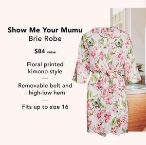 NWT | Show Me Your MuMu | Brie Robe